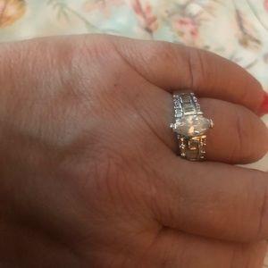 Jewelry - BNWOT women's genuine gemstone and SS ring